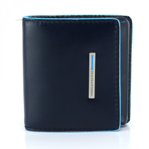 Coins holder Piquadro BLUE SQUARE PU2634B2 BLU