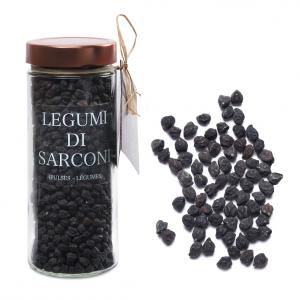 Sarconi Legumes, Black Chickpeas - 470g