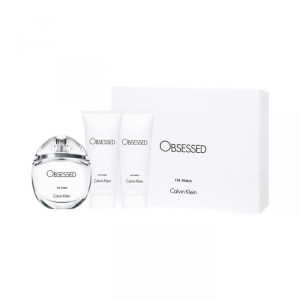 Calvin Klein Obsessed For Women Eau De Perfume Spray 100ml Set 3 Parti 2018
