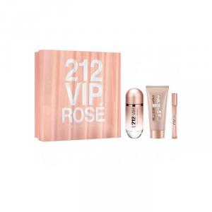Carolina Herrera 212 Vip Rose Eau De Parfum Spray 80ml Set 3 Parti 2018
