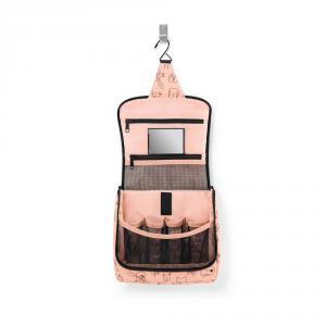 Reisenthel - Toiletbag kids - Borsa da bagno multicolore rosa cod. WH3064