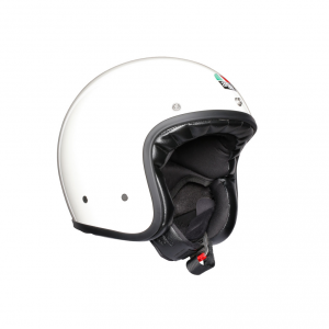 Casco jet AGV Legends X70 E2205 SOLID in fibra Bianco