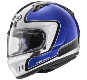 Casco integrale Arai RENEGADE-V OUTLINE in fibra Blu
