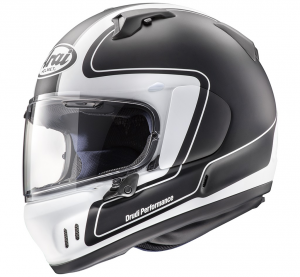 Casco integrale Arai RENEGADE-V OUTLINE FROST in fibra Nero