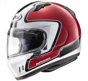 Casco integrale Arai RENEGADE-V OUTLINE in fibra Rosso