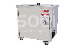 Vasca ultrasuoni industriale lavapezzi riscaldata da 77L SOGI VL-U7700R