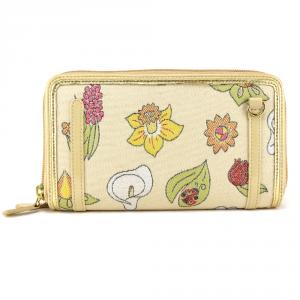 Woman wallet Braccialini JACQUARD B6842 JACQ Beige