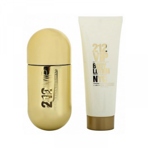 Carolina Herrera 212 Vip Eau De Parfum Spray 50ml Set 2 Parti 2018