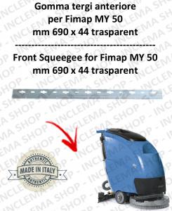 MY 50 s/n 211014837 goma de secadopavimento delantera para fregadora fimap