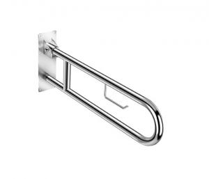 Asta mobile per disabili con porta rotolo per il bagno serie Architect Cosmic