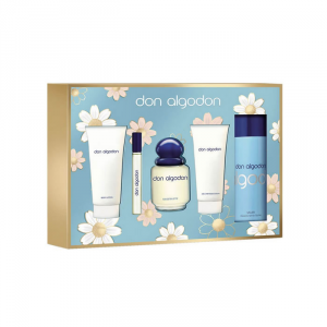 Don Algodón Eau De Toilette Spray 100ml Set 4 Parti 2018