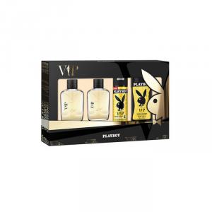 Playboy Vip Him Eau De Toilette Spray 100ml Set 4 Parti 2018