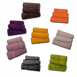 Set 1+1 asciugamano e ospite COGAL RANGER in spugna - vari colori