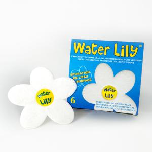 Water Lily (confezione da 6) Assorbente grassi Piscina