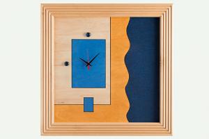 Orologio da parete in legno n.624