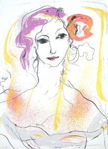 TRECCANI ERNESTO, Serigrafia, Formato cm 40x55