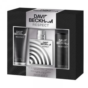David Beckham Respect Men Eau De Toilette Spray 75ml Set 3 Parti 2018