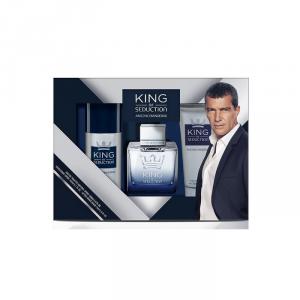 Antonio Banderas King of Seduction Eau de Toilette Spray 100ml Set 3 Parti 2018