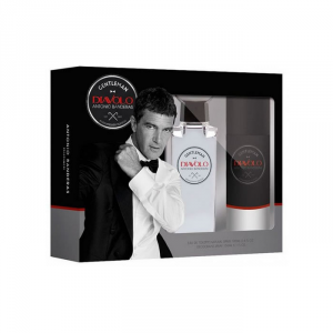 Antonio Banderas Diavolo Gentleman Eau De Toilette Spray 100ml Set 2 Parti 2018