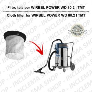 POWER WD 80.2 I TMT FILTRO TELA PER aspirapolvere WIRBEL