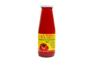 Hausgemachte Tomatenpassata (passierte Tomaten) BIO - 700 g