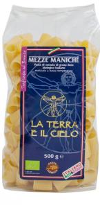 Mezze maniche di grano duro pasta trafilata al bronzo BIO - 500gr