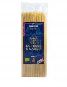 Linguine di grano duro pasta trafilata al bronzo BIO - 500gr