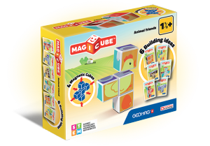 GEOMAG MAGICUBE ANIMAL FRIENDS - 4 PEZZI cod. 132