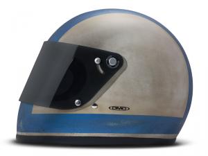Casco integrale DMD Handmade Rocket R80 in carbonio Grigio Blu