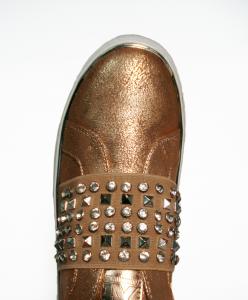 Sneaker nudo con fascia Xti