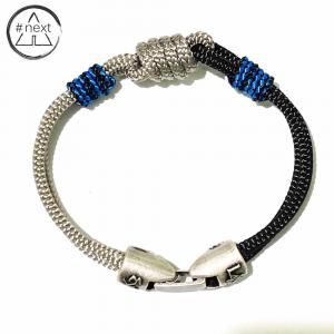 L4K3 - Bracciale in corde nautiche con nodo - CAP 02