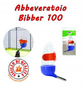 Abbeveratoio per Criceti Bibber 100 Imac per ogni tipo di Gabbia*