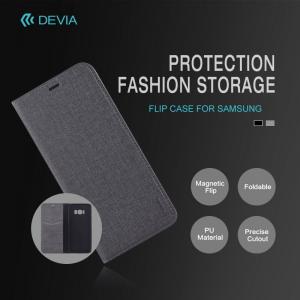 Cover a libro Flip Case nera per Samsung S8 - S8 Plus