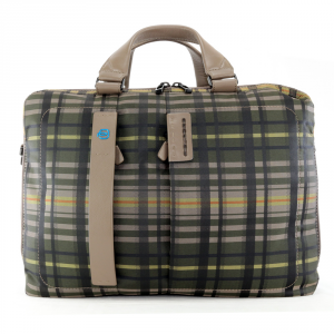 Business bag Piquadro  CA3347P16 CHECKK