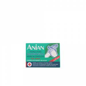 Anian Hidro Alcoholic Hygienic Wipes 10 Units