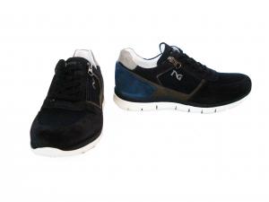Sneaker blu o fumo Nero Giardini