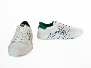 Sneaker bianca/verde Nero Giardini