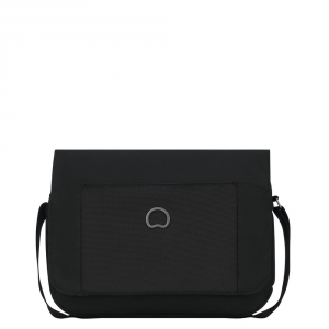 Delsey - Picpus - Borsa a tracolla unisex messanger orizzontale porta tablet 12.9