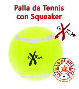 Palla da Tennis Fuxtreme con Squeaker Ferribiella - vari formati