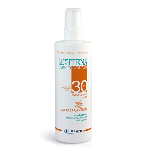 LICHTENA DERMOSOLARI LATTE SPRAY BIMBI SPF 30+
