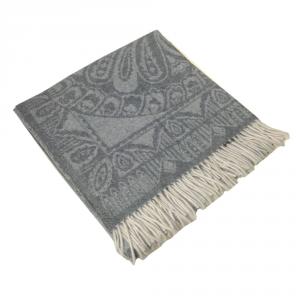 Plaid 130x180 cm puro cashmere MARZOTTO-LANEROSSI Everest grigio