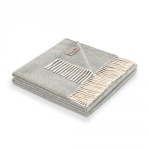 Plaid 130x180 cm puro cashmere MARZOTTO-LANEROSSI Kilimangiaro grigio