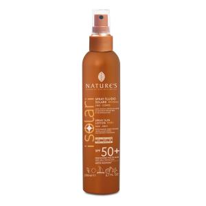 Solare Spray Fluido Viso-Corpo Bambini SPF 50+ 200ml - Nature's