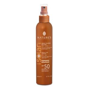 Solare Spray Viso-Corpo SPF 50  200ml - Nature's