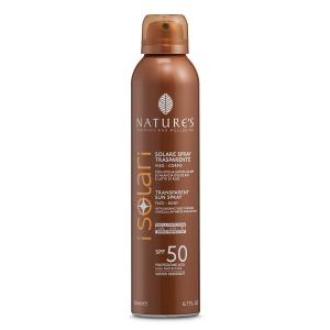 Solare Spray Trasparente SPF 50 200 ml - Nature's
