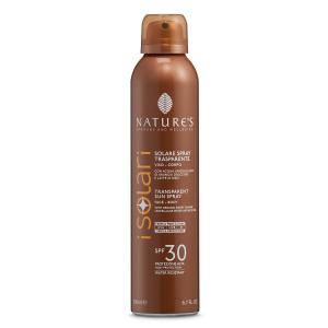 Solare Spray Trasparente SPF 30 200 ml - Nature's