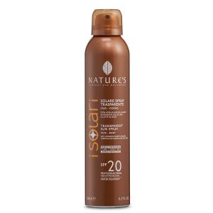 Solare Spray Trasparente SPF 20 200 ml - Nature's