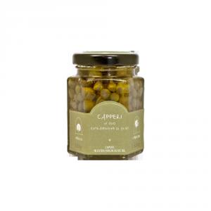 Capperi in olio extravergine di oliva - 100gr
