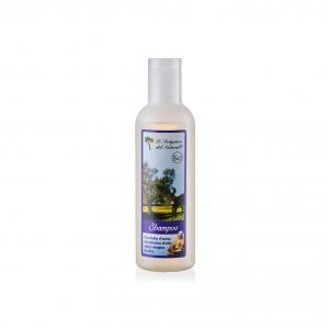 Shampoo con Latte d'Asina ed estratto di foglie di olivo