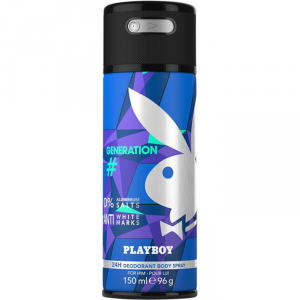 Playboy #Generation Man Deodorante Spray 150ml